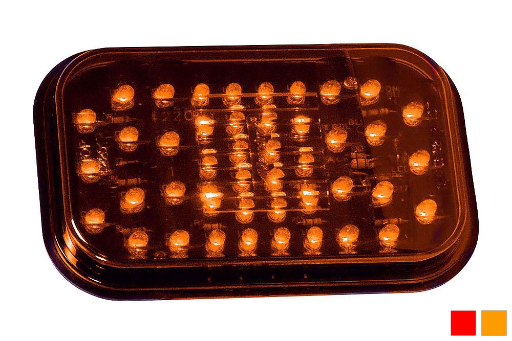 Maxxima M42213 White 5 Rectangular Backup Light