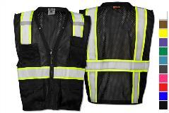 ec9bf084089 ML Kishigo Enhanced Visibility Multi Pocket Mesh Vest
