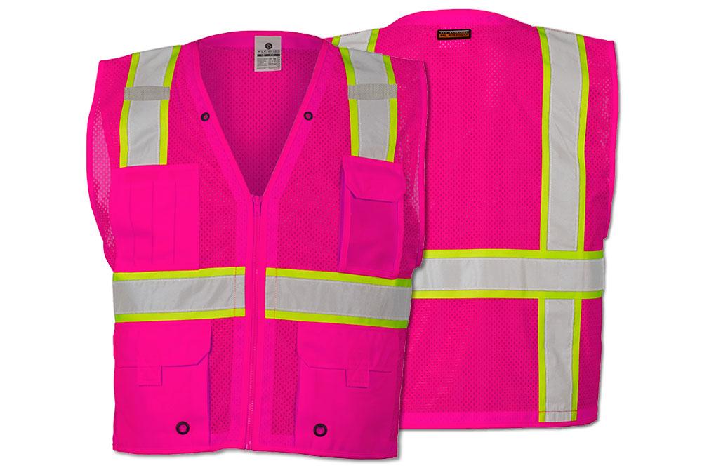 ML Kishigo Breast Cancer Safety Vest