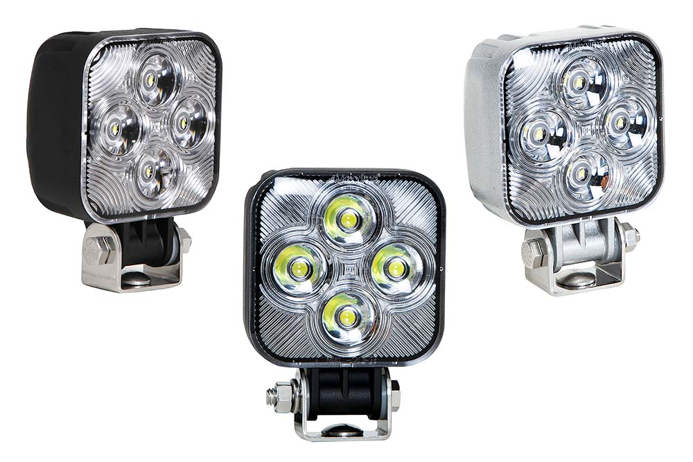 Maxxima 3 Square Work Light 4 Leds 800 Lumen