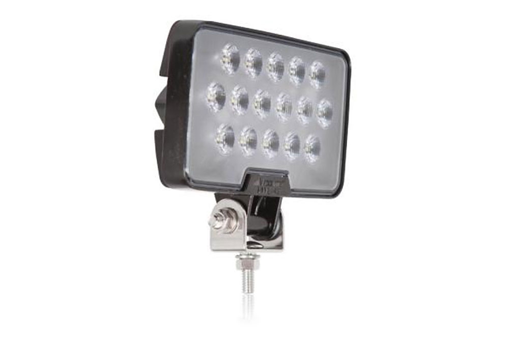 Maxxima Rectangular Work Light 16 Led 2100 Lumens