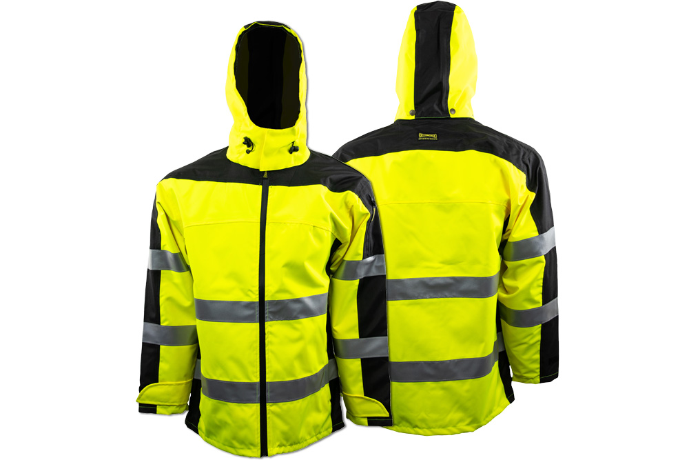 OccuNomix Class 3 Rain Jacket - Lime Parent