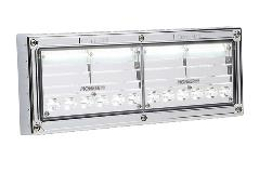 Whelen Pioneer Plus Surface Mount Dual Panel Flood/Spot Light Chrome