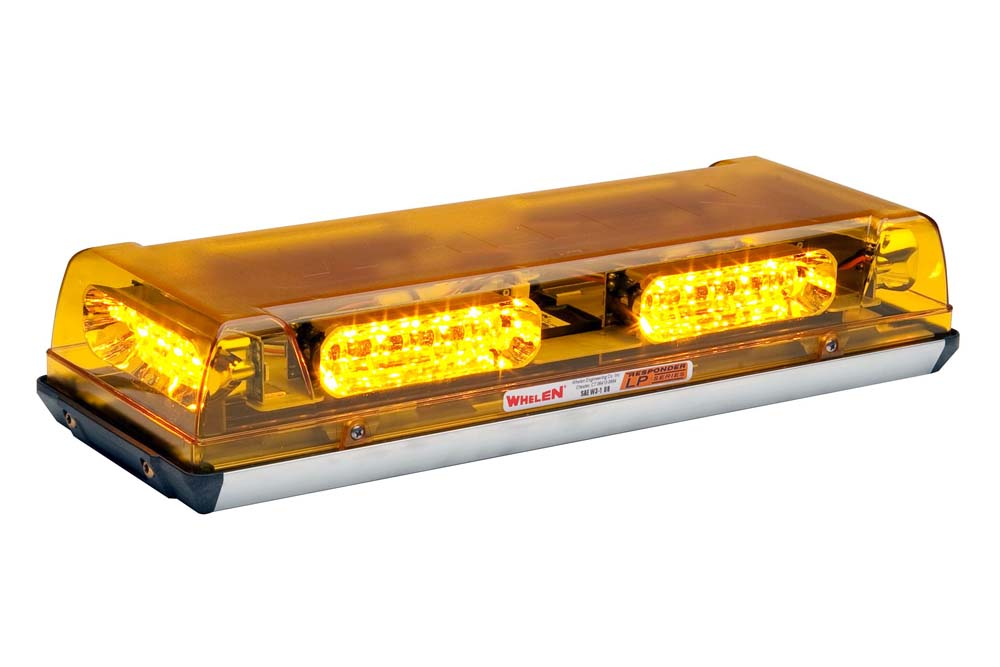 Whelen responder lp r2 series super led mini lightbar aluminum base aloadofball Images