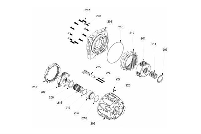Gear Box Assembly Manual Shift BOM