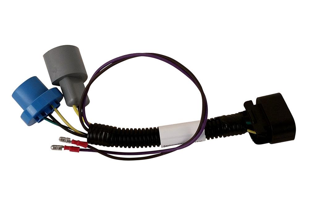 SnowDogg Headlight Adaptor HB1 with Relay Kit, Dodge