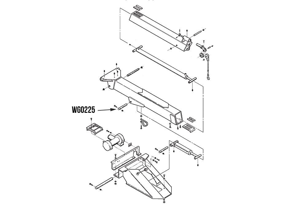 4711 Wrecker Assembly