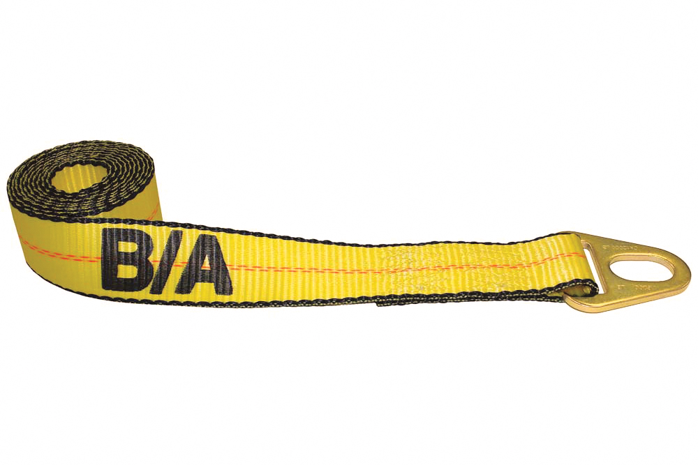 B/A Wheel Lift Tie-Down Strap with Grab Plate
