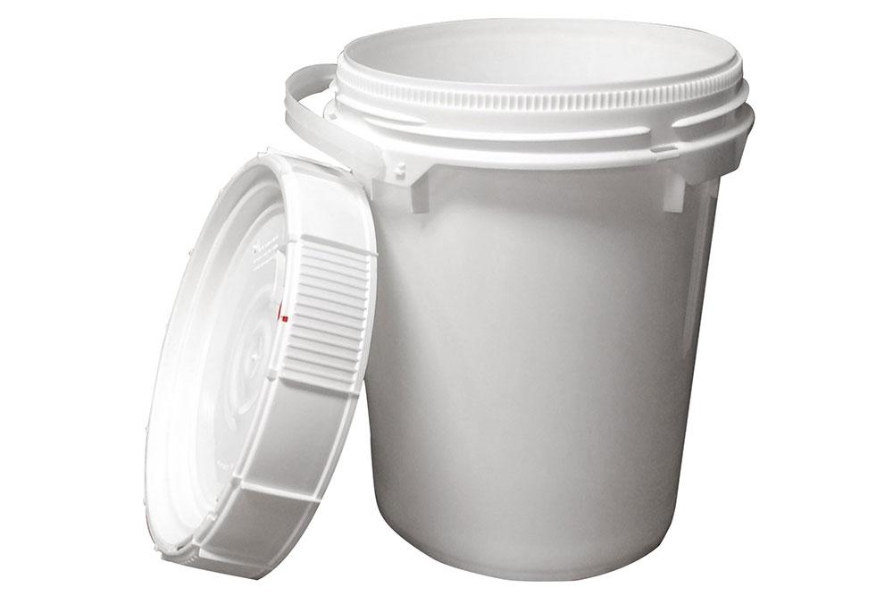 All Grip 5 Gallon Trash Storage Container