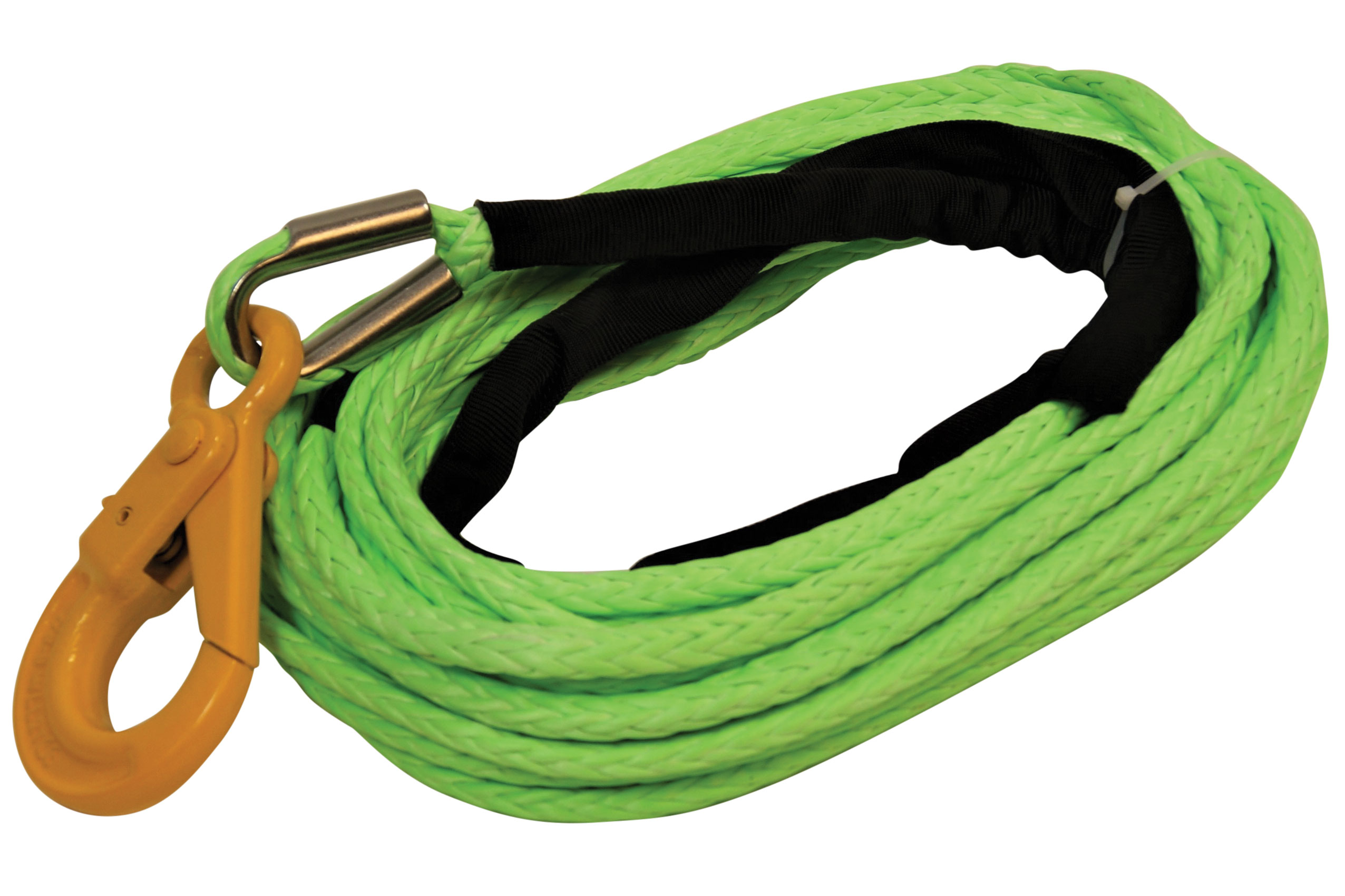 All-Grip Plasma Winch Line with Self-Locking Hook