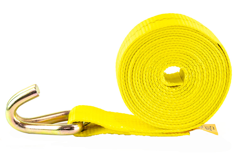 Zip's Winch Straps with Double J Hooks