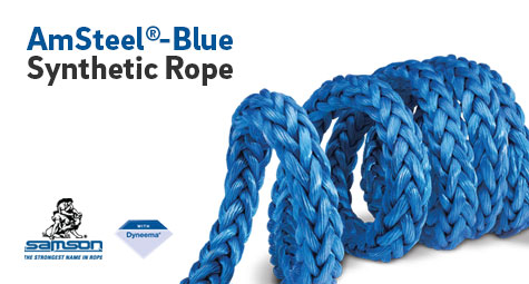 AmSteel-Blue Synthetic Rope